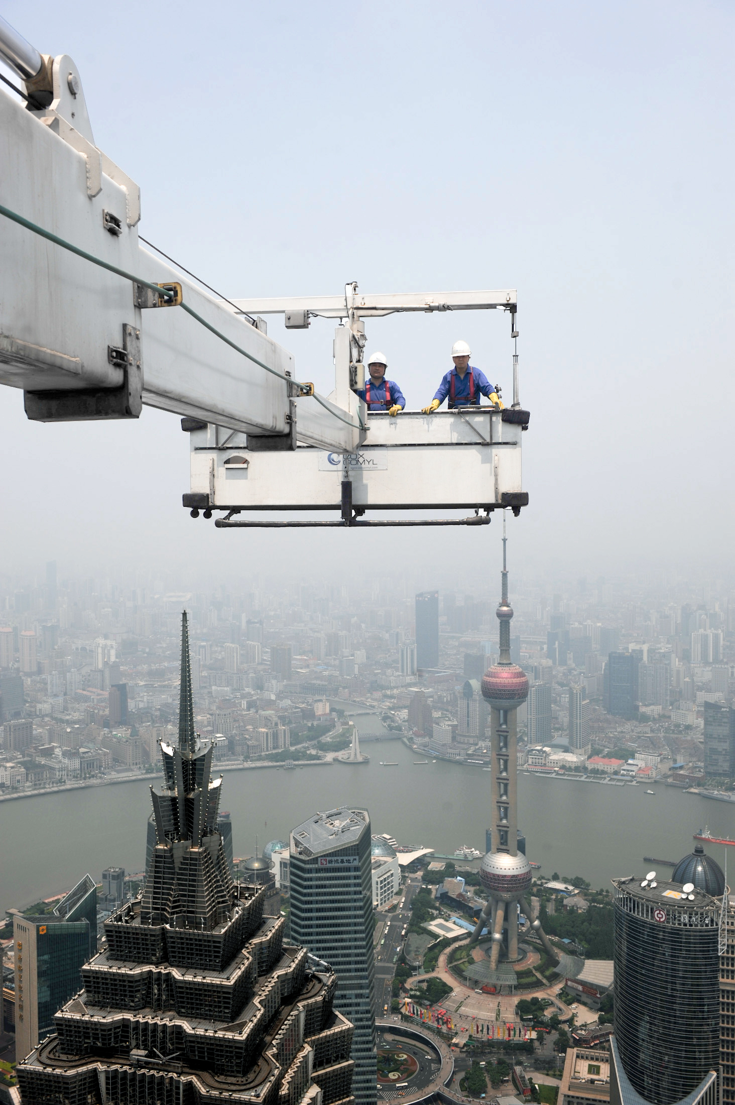 Super-tall Shanghai World Trade Centre