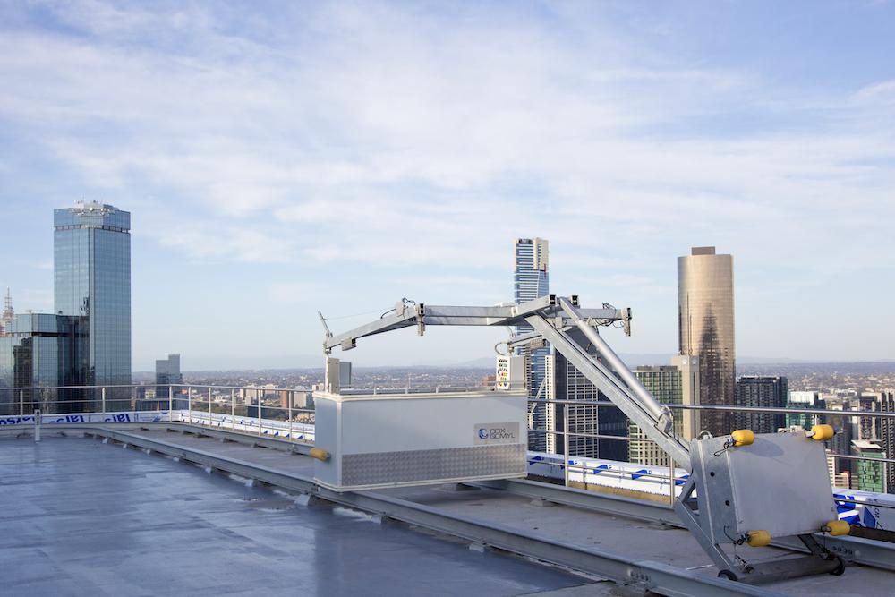 Building Maintenance Unit Collins Square, Melbourne