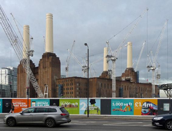 The regeneration of London's historic Battersea Power Station