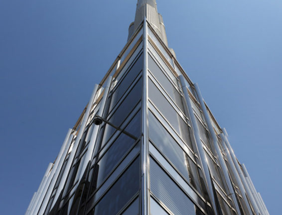 CoxGomyl dominate in facade access for the world's tallest buildings