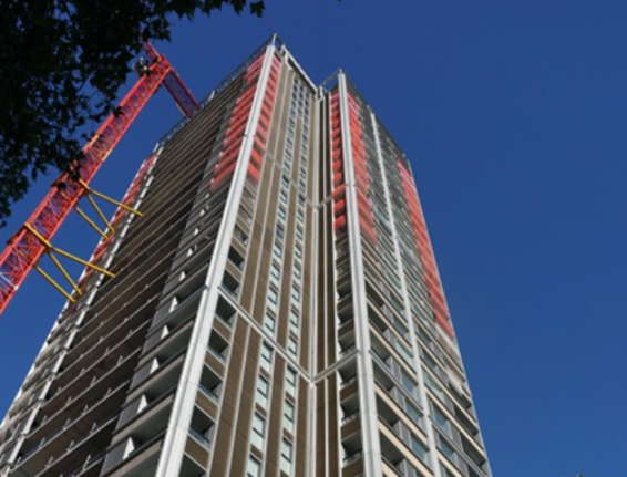 Building access solutions for a new London community at Highwood Tower