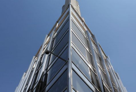 CoxGomyl delivers premium facade access solutions for the world's tallest buildings